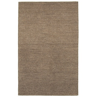 "LR Home Dazzle Brown/ Beige Natural Area Rug (5' x 7'9) - 5' x 7'9"""