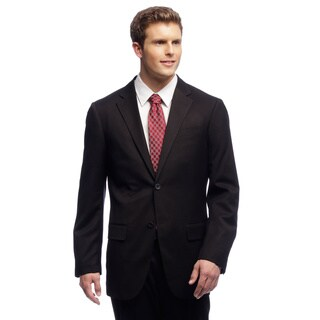 Dockers Men's Black Striped Suit Separates Coat