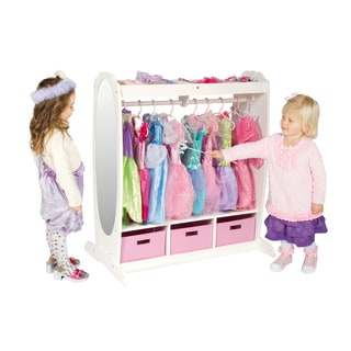 Guidecraft Dress Up Storage Center in White
