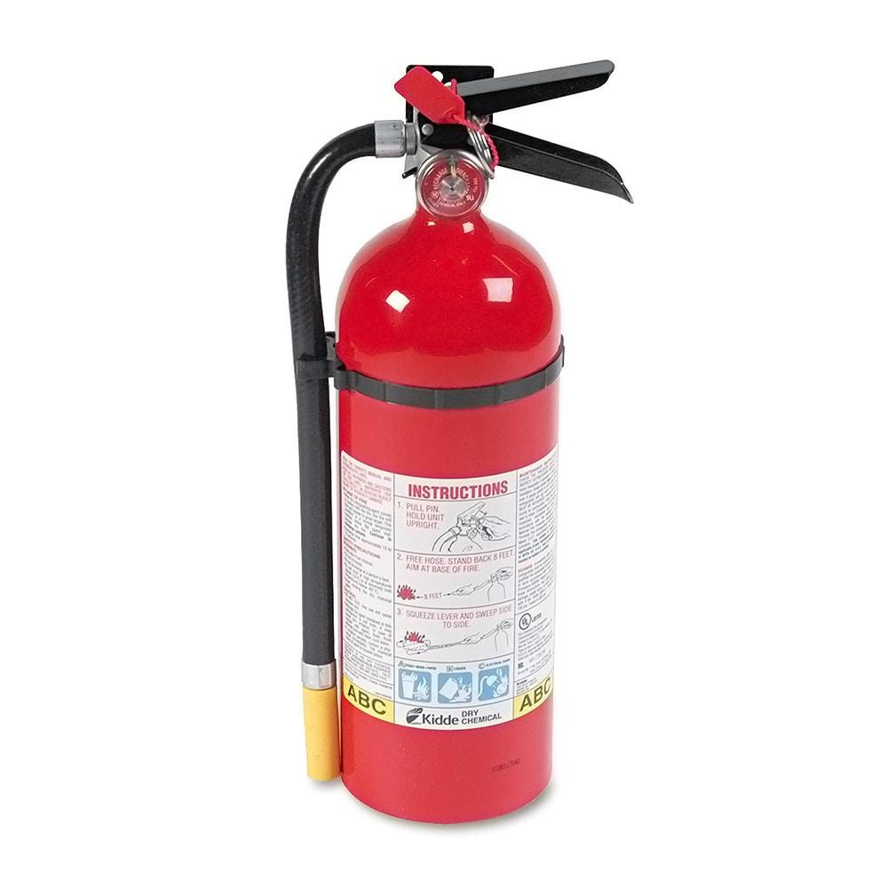 Kidde Pro 5 Fire Extinguisher (KID466112), Red (Metal)
