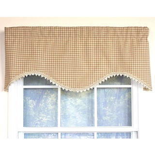 Tammy Pearl Cornice Window Valance