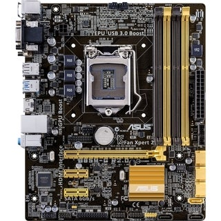 Asus B85M-G R2.0 Desktop Motherboard - Intel Chipset - Socket H3 LGA-
