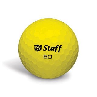 50 Elite Yellow Golf Balls (Pack of 12)