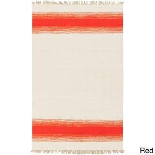 PEPPER Hand-woven Faded Tassel Area Rug (8' x 10')