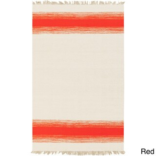 PEPPER Hand-woven Faded Tassel Area Rug (8' x 10')