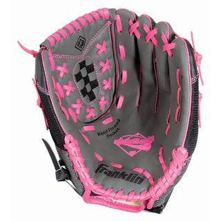 Franklin Sports Windmill Series 13-inch Gray/ Pink Right Handed Thrower Softball Glove
