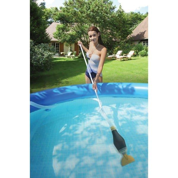Shop Skooba Above Ground Pool Vacuum Cleaner - Black - Free ...