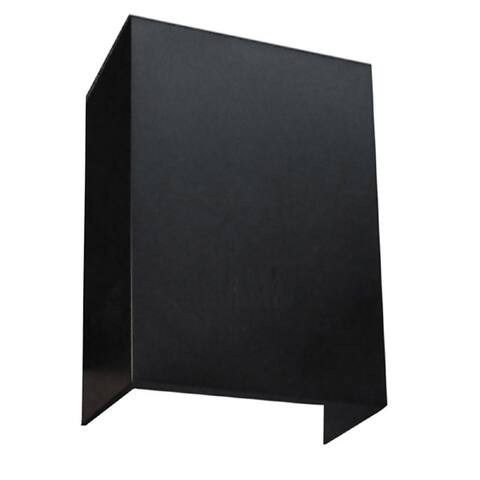 NT Air Wall-mounted Black Chimney Extension
