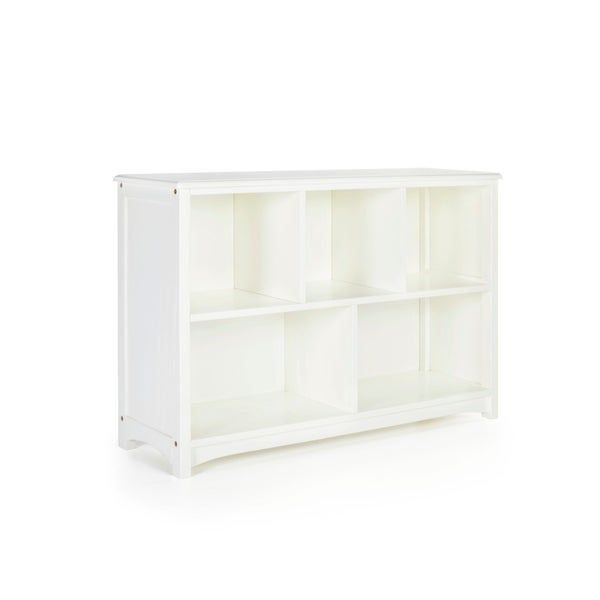 Shop Classic White Bookshelf Free Shipping Today