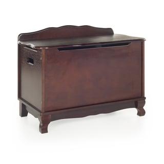 Classic Espresso Toy Box