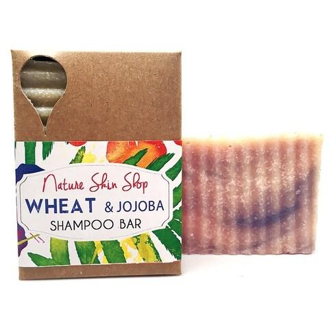 All Natural Wheat Jojoba Silk 5-ounce Shampoo Bar
