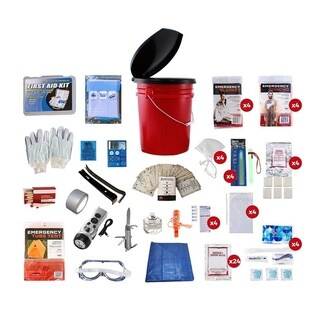 4-person Bucket Survival Kit