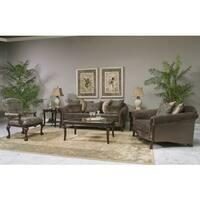 Fairmont Designs Made To Order Lila Brown 3-piece Sofa Set