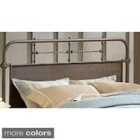 Carbon Loft Lister Metal Headboard (Rails Not Included)
