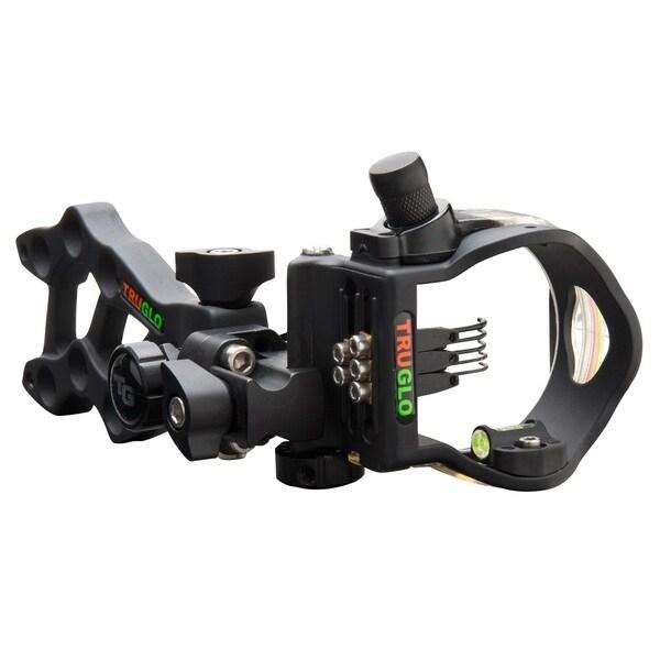 Truglo Rival Hunter Black Micro Ddp 5 Pin Bow Sight Free