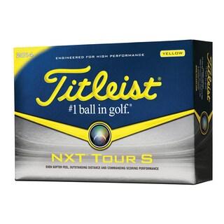 Titleist 2014 NXT Tour S Yellow Golf Ball 12-Ball Pack