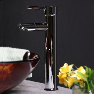 Single-handle Faucet in Chrome Finish for Single-hole