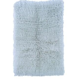 Linon Flokati Heavy Pastel Blue Rug (2' x 5') - 2' x 5'