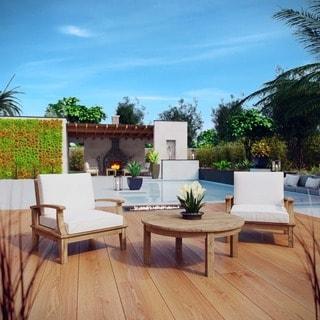Pier 3-piece Outdoor Patio Teak Sofa Set