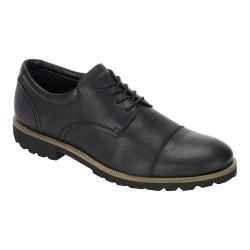 Men's Rockport Channer Oxford Black Leather