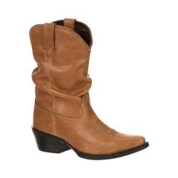 Girls' Durango Boot DBT0108 8in Slouch Sand Synthetic