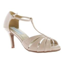 Women's Dyeables Martina T-Strap Nude Patent