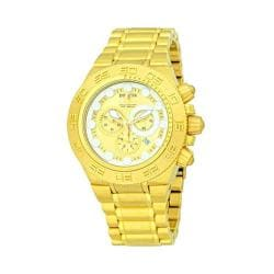 Men's Invicta 14737 Subaqua Quartz Chronograph Gold Stainless Steel/Gold