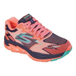 Women's Skechers GOrun Ultra Road Navy/Coral