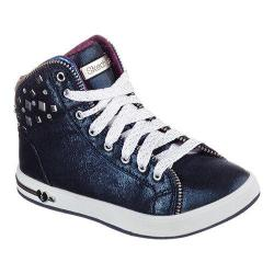 Girls' Skechers Shoutouts Zipsters High Top Navy
