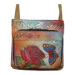 Women's ANNA by Anuschka 7011 Rose Butterfly