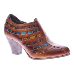 Women's L'Artiste by Spring Step Brilliance Bootie Camel Multi Leather