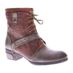 Women's L'Artiste by Spring Step Cashew Ankle Boot Taupe Multi Leather