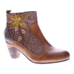 Women's L'Artiste by Spring Step Dramatic Boot Camel Multi Leather