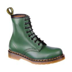 Women's Dr. Martens 1460 8 Eye Boot Green Smooth