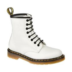 Women's Dr. Martens 1460 8 Eye Boot White Smooth