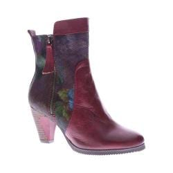 Women's L'Artiste by Spring Step Moonlight Ankle Boot Dark Red Multi Leather