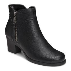 Women's Aerosoles Acrobatic Ankle Boot Black Faux Leather