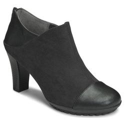 Women's Aerosoles Commentary Ankle Boot Black Faux Suede/Faux Leather