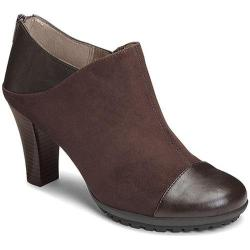 Women's Aerosoles Commentary Ankle Boot Brown Faux Suede/Faux Leather