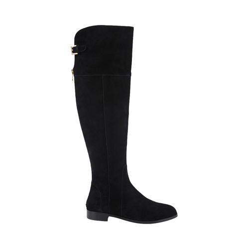 bd3eed82234 Shop Women s Charles by Charles David Reed Wide Calf Boot Black Suede -  Free Shipping Today - Overstock - 10443088
