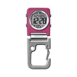 Dakota Watches Digiclip Square Pink Alloy/Pink/Silver