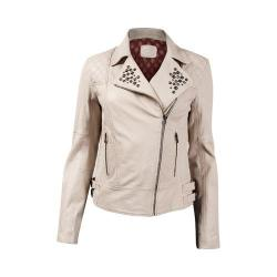 Women's Durango Boot Demi Monde Jacket Cream Leather