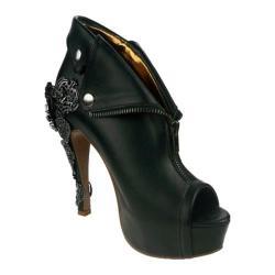 Women's Hades Dorgu Open-Toe Heel Black Polyurethane