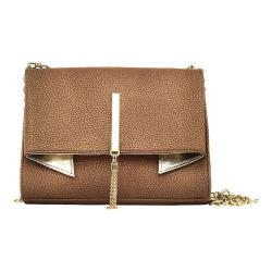 Women's Nicole Miller Trina Clutch Copper/Gold