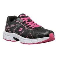 Women's Propet XV550 Black/Pink Mesh/Synthetic