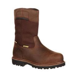 Men's Georgia Boot GB00029 10in Met-Guard Wellington Hammer Steel Toe Muddy River Leather