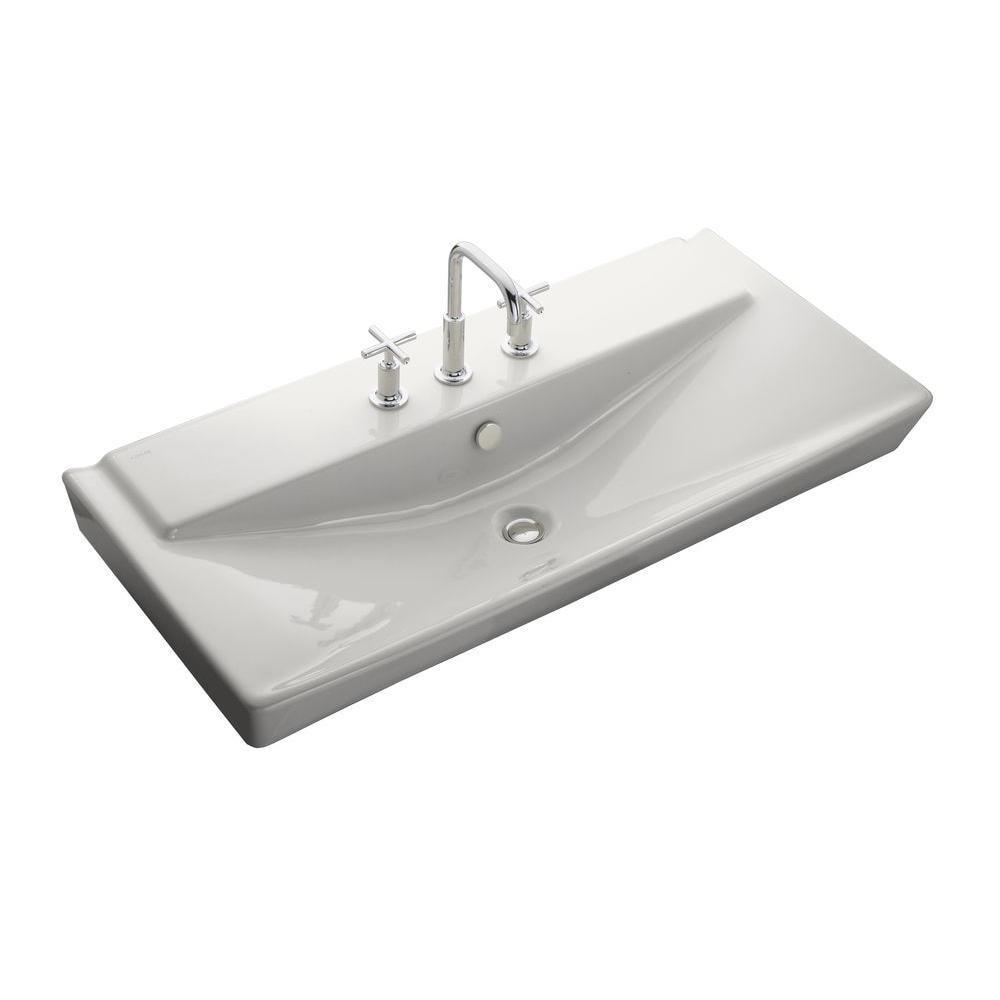 Kohler Reve Wall-mount Bathroom Sink in Whites