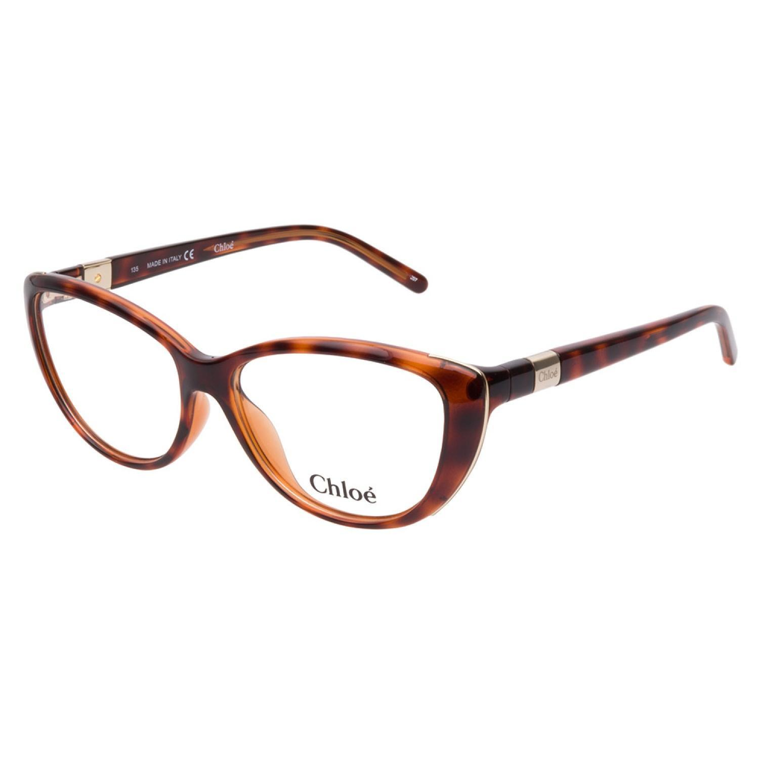 60d2278d670 Shop Chloe CE2601 219 Tortoise Prescription Eyeglasses - Free Shipping  Today - Overstock.com - 10471428