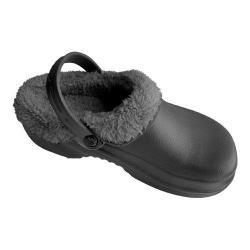 Nothinz Plush Clogs Black/Black