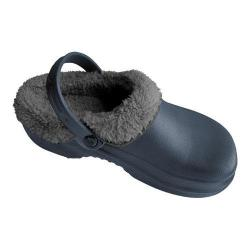 Nothinz Plush Clogs Navy/Black